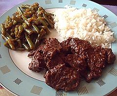 rundvlees rendang recept