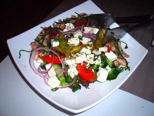 De heerlijk traditionele Salade