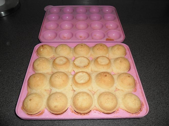 Cake Pop Maker mag uit de oven