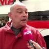 Jos Verstappen deed in zijn A1-GP auto Lelystad aan