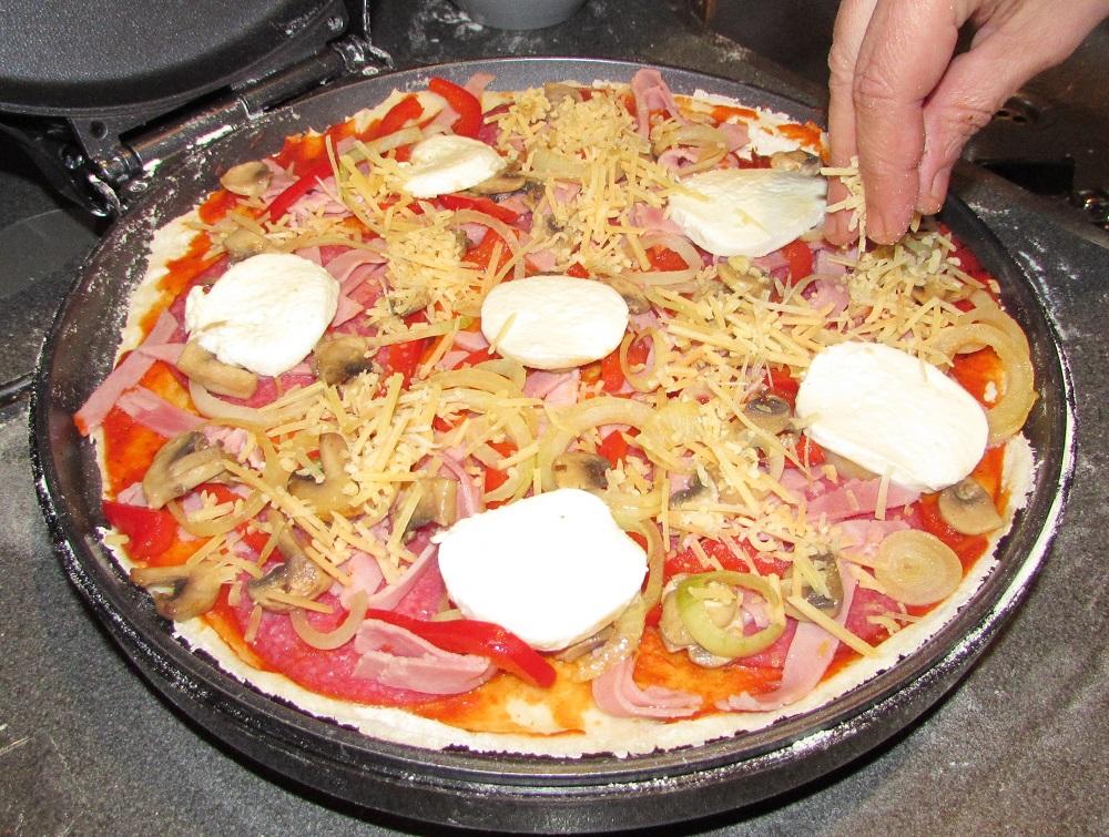 Mozzarella en Geraspte Kaas